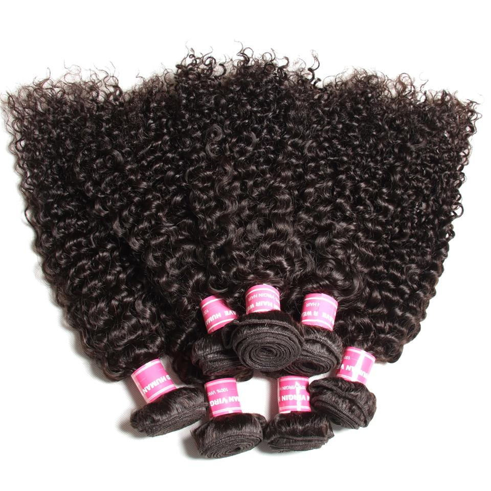 Curly Hair 4 Bundles With 4*4 Lace Closure Human Virgin Hair Extension - Truelovewigs.com