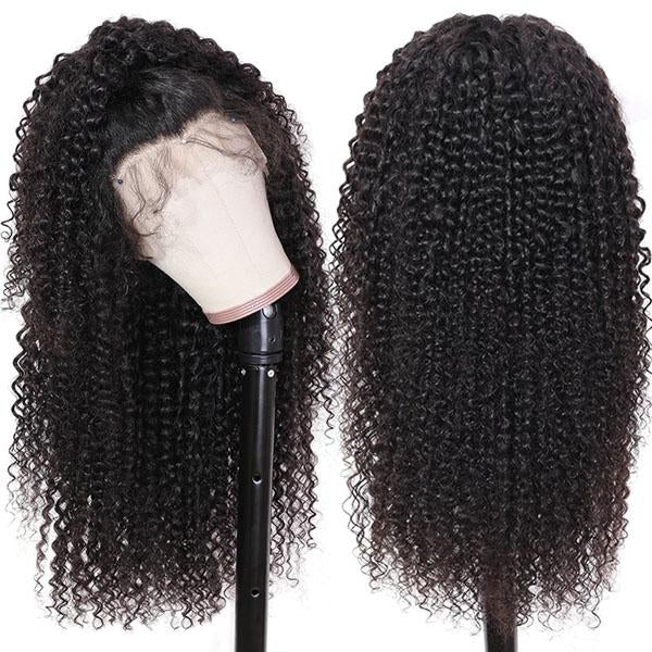 Curly Full Lace Wig Pre Plucked Wigs With Baby Hair 100% Human 10A Remy Hair Curly Human Hair Wigs - Truelovewigs.com