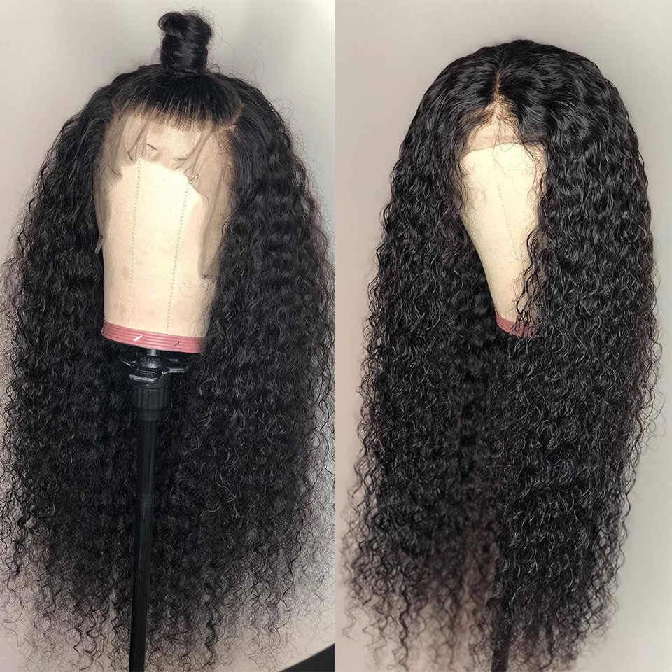 Human Hair Lace Front Wigs 13x6 Pre Plucked With Baby Hair 100% Human Hair Curly Wigs - Truelovewigs.com