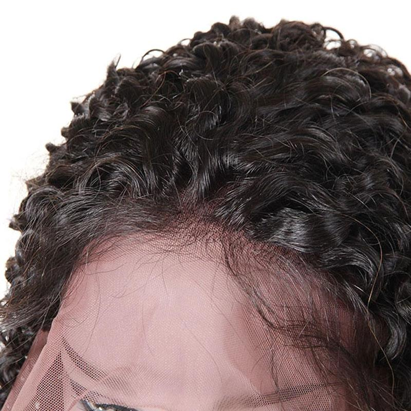 Glueless Lace Front Wigs 100% Human Hair Wigs Pre Plucked Hairline 13x4 With Baby Hair Deep Wave Wig - Truelovewigs.com