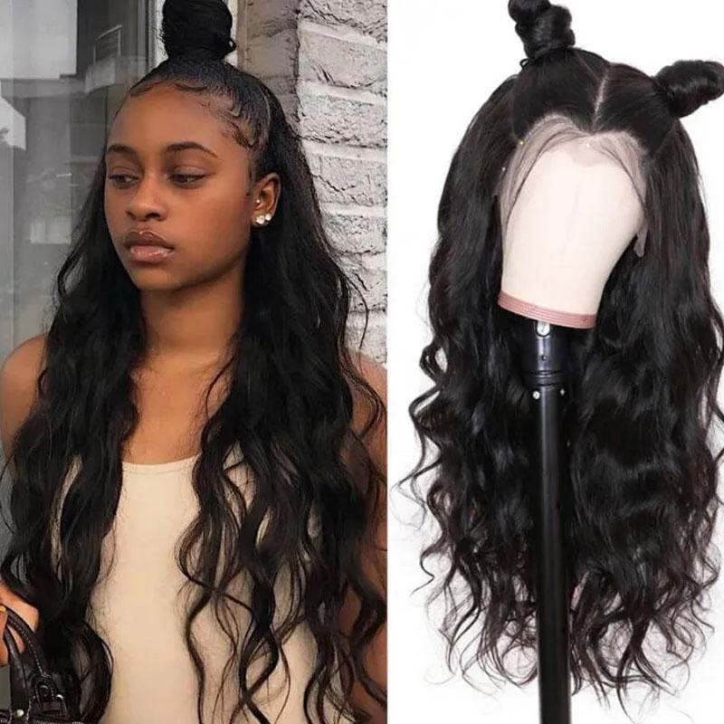 10A Glueless Lace Wigs Human Hair with Baby Hair 13x4 Pre Plucked Loose Wave Human Hair Wig - Truelovewigs.com