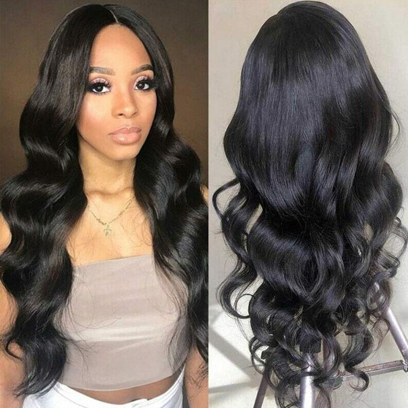 10A Lace Wigs Human Hair with Baby Hair 4x4 Pre Plucked Loose Wave Human Hair Wig - Truelovewigs.com