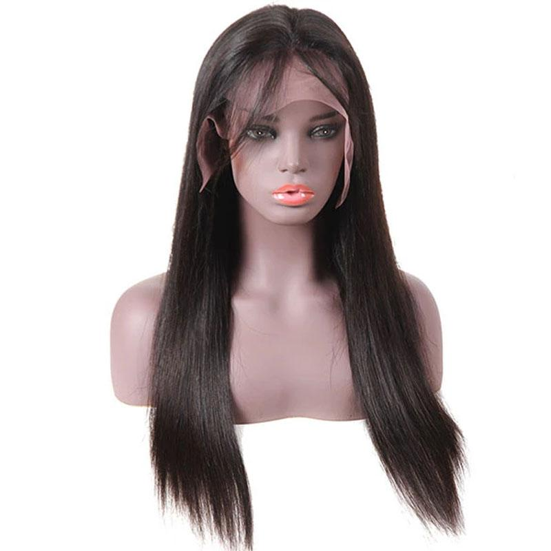 Glueless Lace Front Wigs Human Hair with Baby Hair 13x4 Pre Plucked 10A Straight Human Hair Wig - Truelovewigs.com