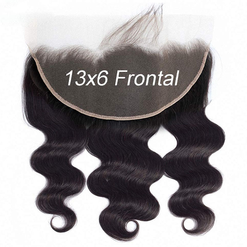 Super Fine Swiss Lace Frontal 13x6 Lace Frontal Weave Body Wave Frontal 10A 6x13 Frontal 100% Human Hair - Truelovewigs.com