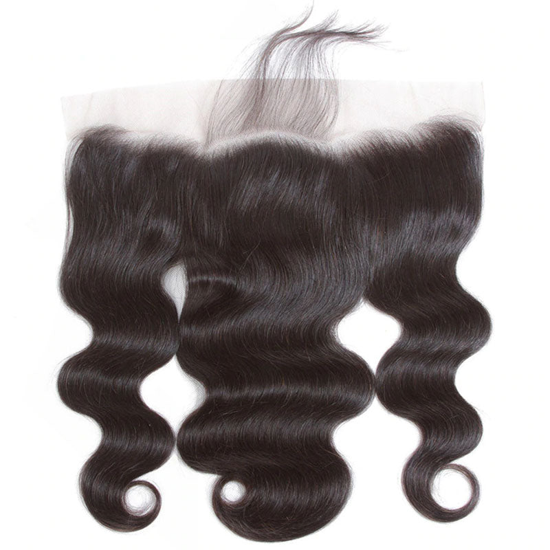 Transparent Frontal 10A Lace Front Frontal Closure 13x4 Body Wave Frontal 100% Human Hair 150% Density - Truelovewigs.com