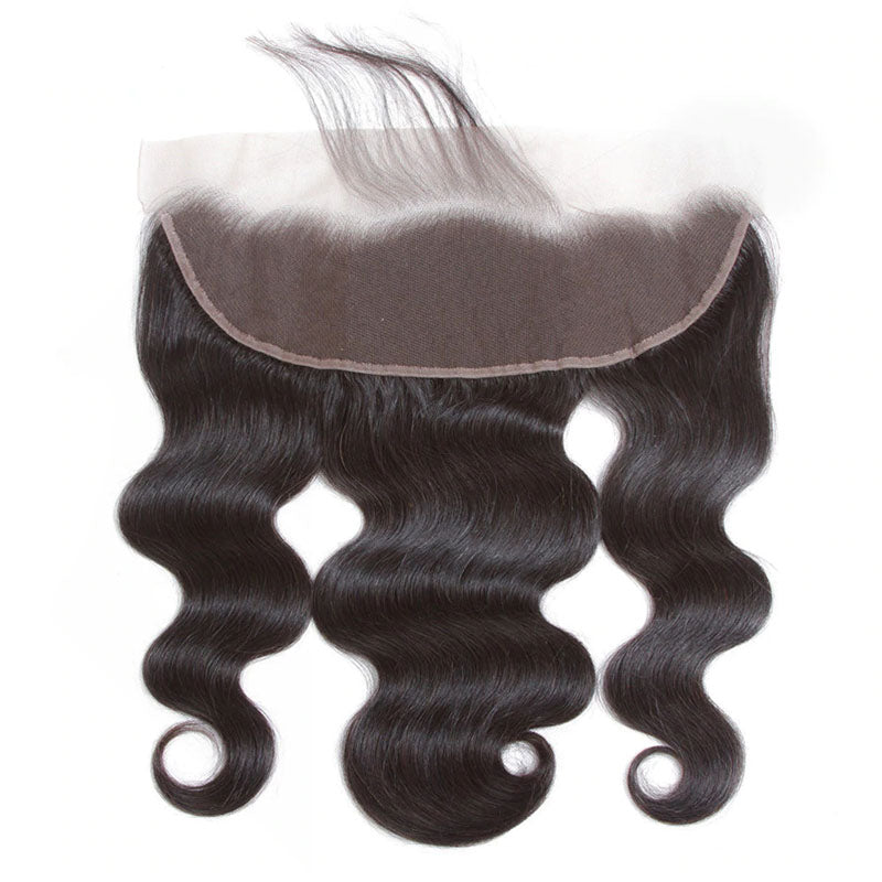 Frontal 10A Lace Front Frontal Closure 13x4 Body Wave Frontal 100% Human Hair 150% Density - Truelovewigs.com