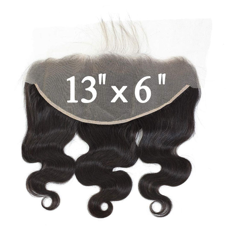 13x6 Lace Frontal 10A Top Closure Frontal Weave Body Wave Frontal 10A Pre Plucked Frontal 100% Human Hair - Truelovewigs.com