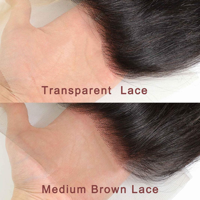 13x6 Lace Frontal Closure Straight 10A Top Closure Frontal Pre Plucked 100% Human Hair - Truelovewigs.com