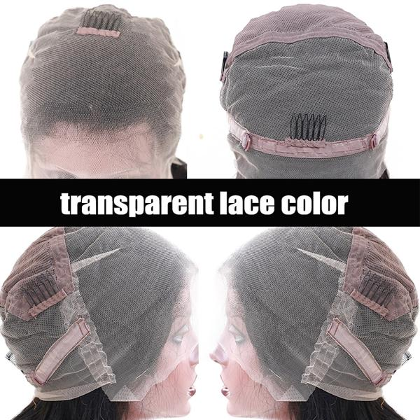 Transparent Lace Wigs Human Hair with Baby Hair 13x6 Pre Plucked 10A Loose Wave Human Hair Wig - Truelovewigs.com