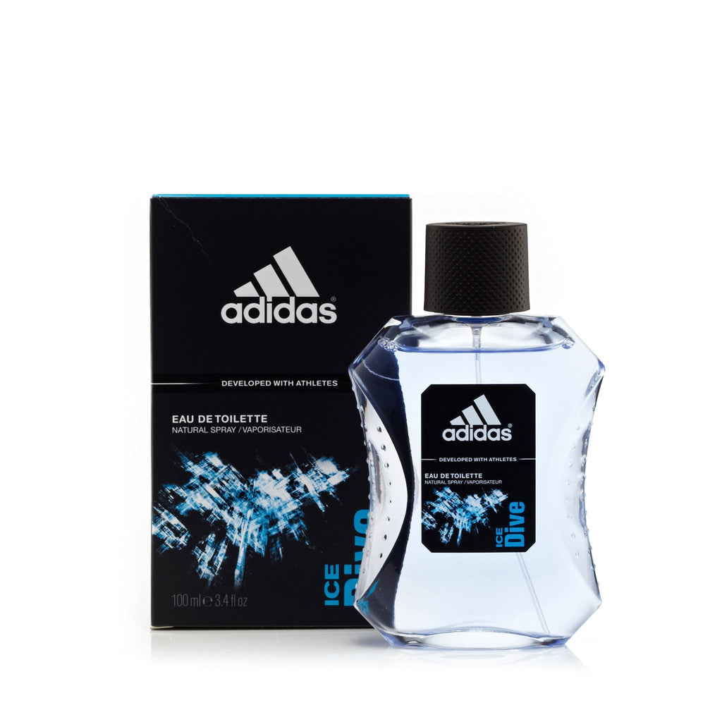 Adidas Ice Dive Eau de Toilette Mens Spray 3.4 oz.
