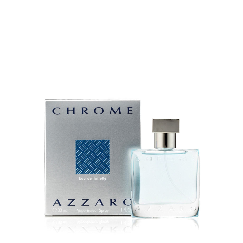 Azzaro Chrome Eau de Toilette Mens Spray 1.0 oz.