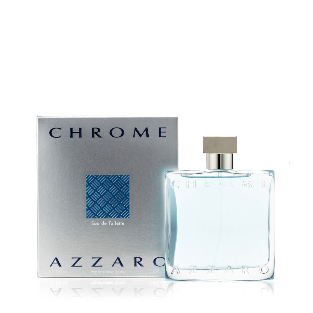 Azzaro Chrome Eau de Toilette Mens Spray 3.4 oz.