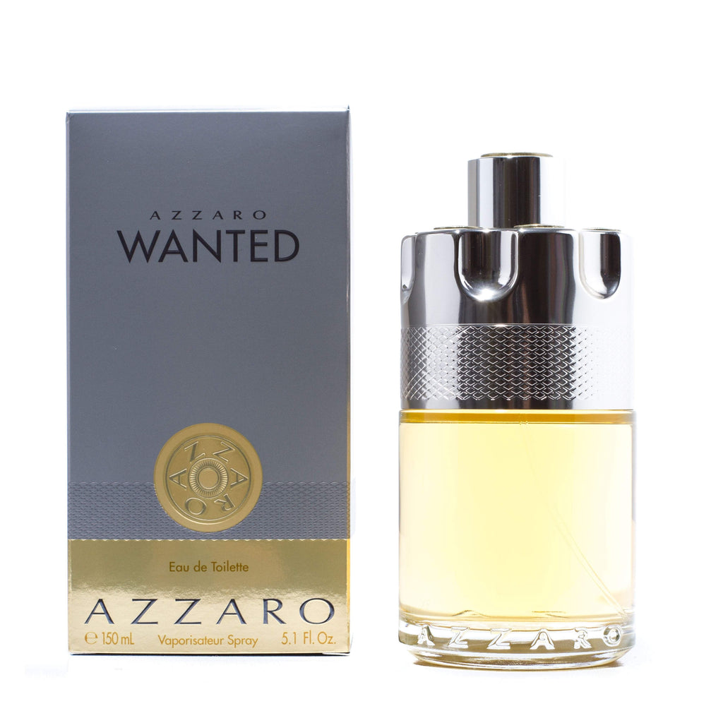 Wanted Eau de Toilette Spray for Men by Azzaro 5.1 oz.