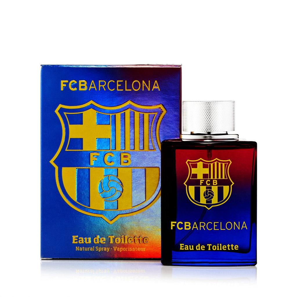 FC Barcelona Eau de Toilette Spray for Men by FC Barcelona 3.4 oz.