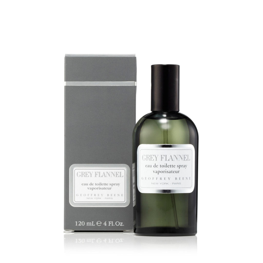 Geoffrey Beene Grey Flannel Eau de Toilette Mens Spray 4.0 oz.