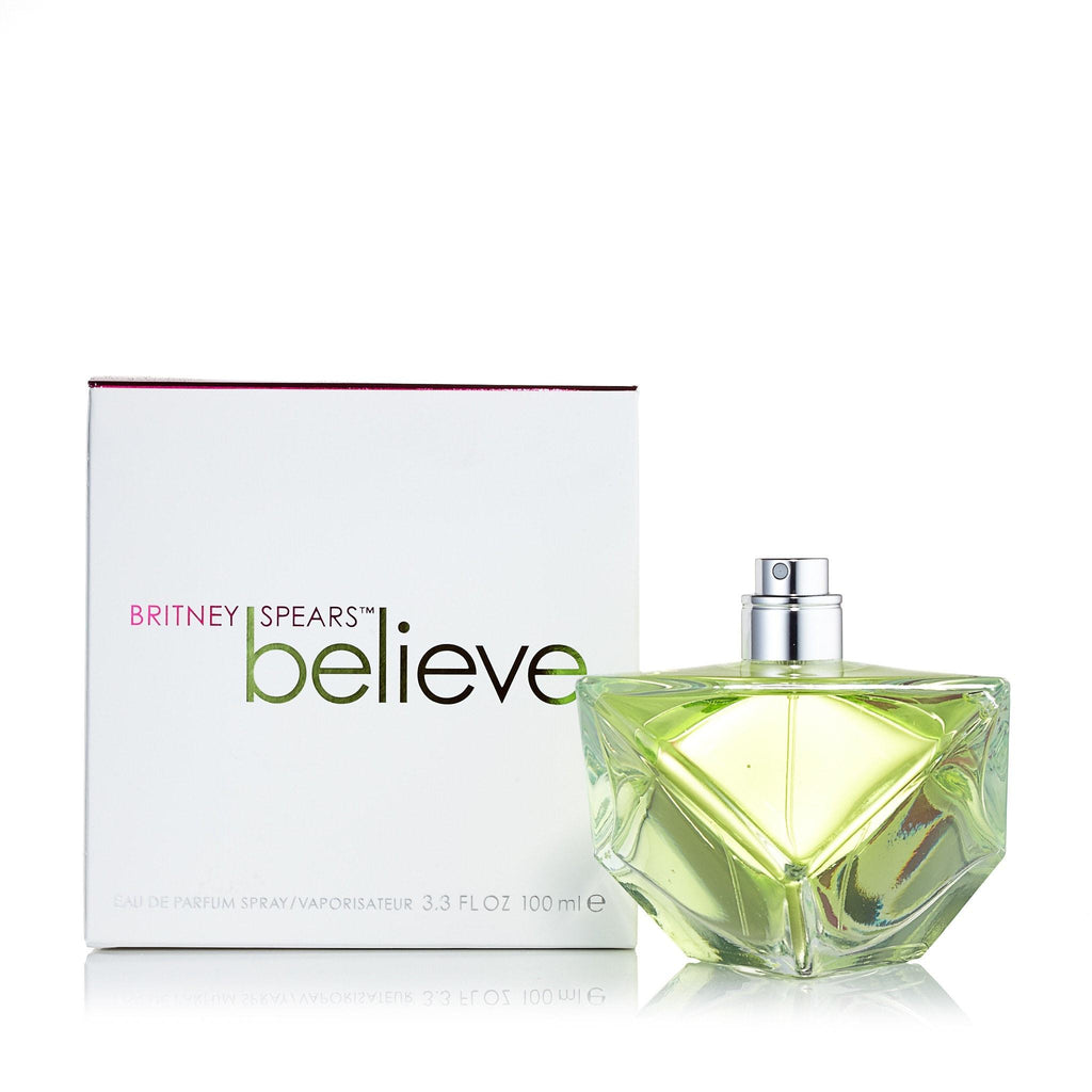 Believe Eau de Parfum Spray for Women by Britney Spears 3.3 oz.