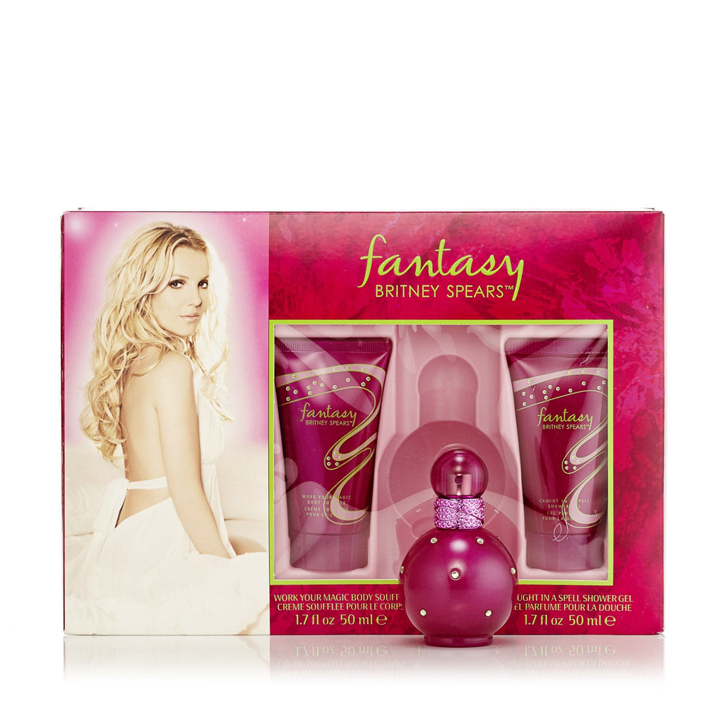 Fantasy Gift Set EDP, Body Lotion and Shower Gel for Women by Britney Spears 1.0 oz.