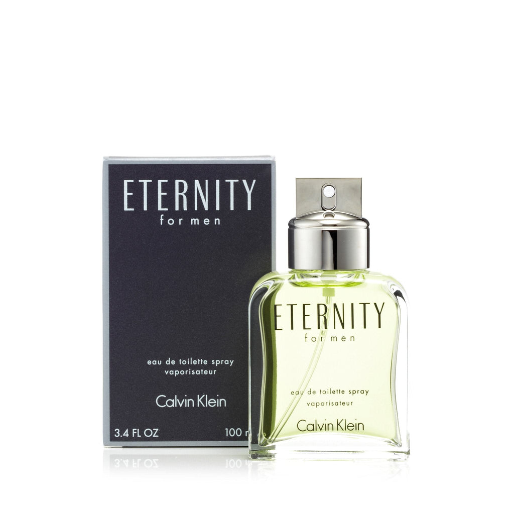 Calvin Klein Eternity Eau de Toilette Mens Spray 3.4 oz.