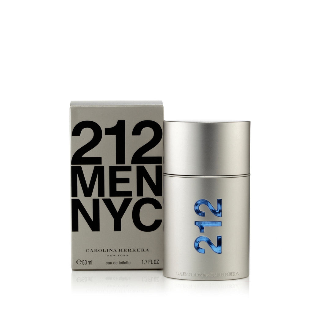 Carolina Herrera 212 Men Eau de Toilette Mens Spray 1.7 oz.