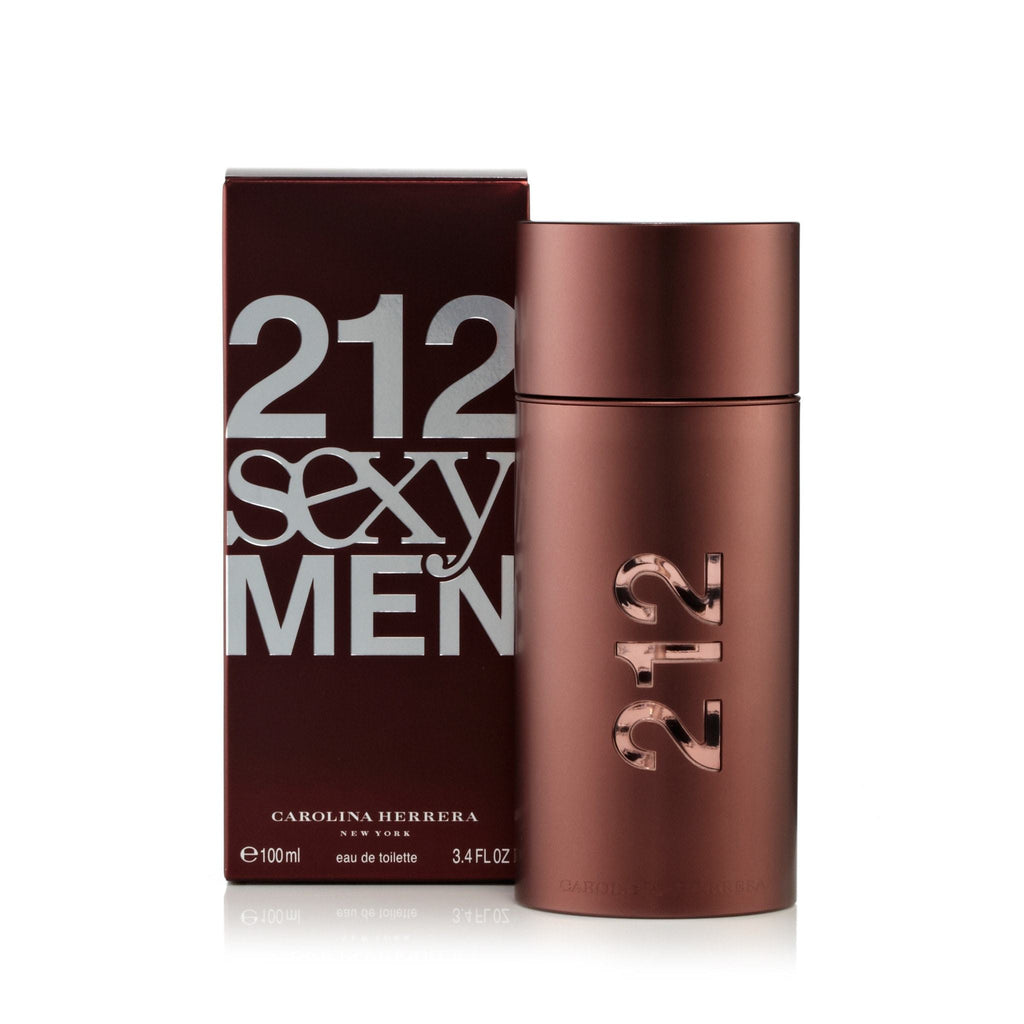Carolina Herrera 212 Sexy Men Eau de Toilette Mens Spray 3.4 oz.