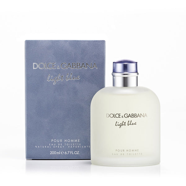 Light Blue For Men By Dolce Gabbana Eau De Toilette Spray Perfumania