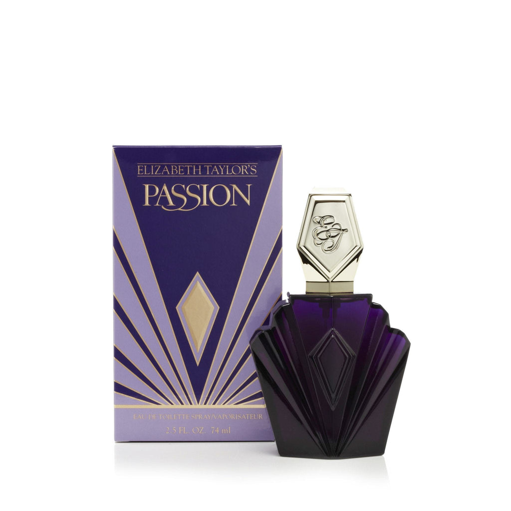 Elizabeth Taylor Passion Eau de Toilette Spray Womens 2.5 oz.