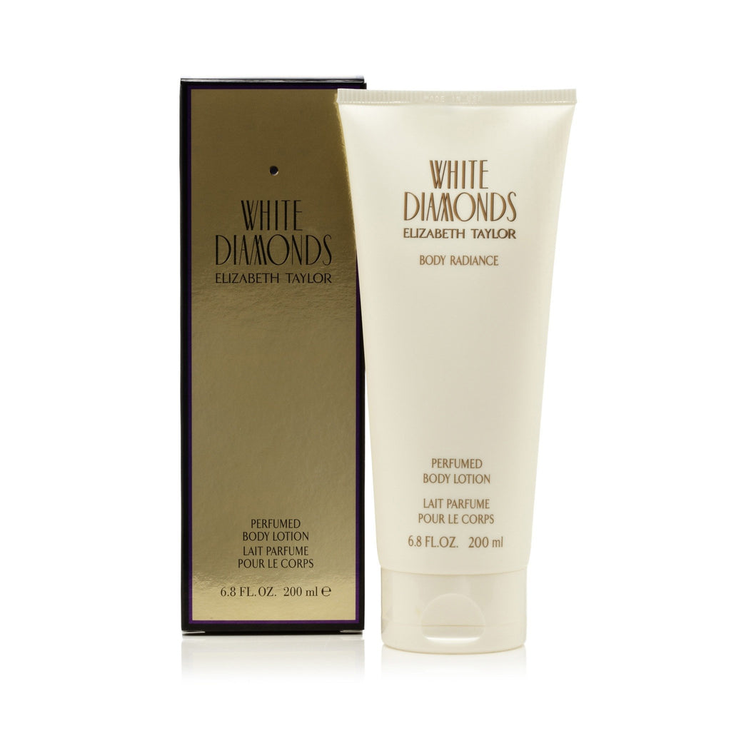 White Diamonds Body Lotion for Women by Elizabeth Taylor 6.8 oz.