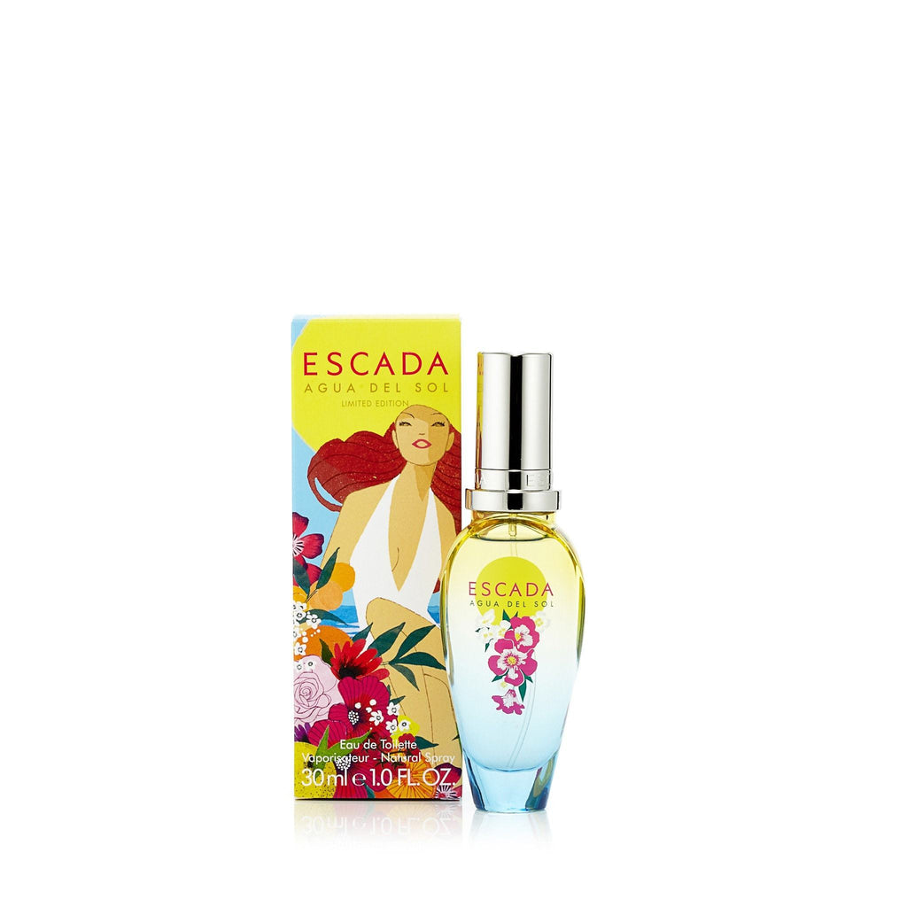 Agua Del Sol Eau de Toilette Spray for Women by Escada 1.0 oz.