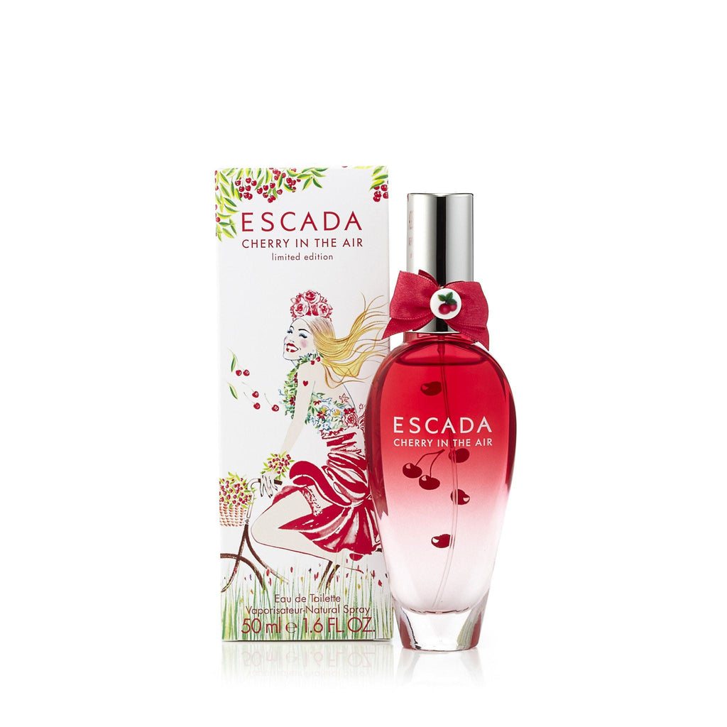 Cherry in the Air Eau de Toilette Spray for Women by Escada 1.6 oz.