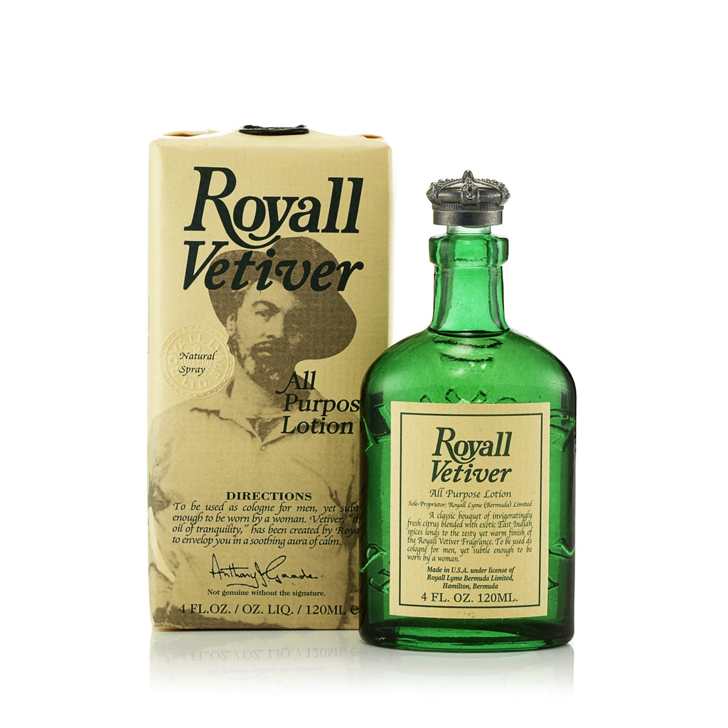 Royall Vetiver Cologne for Men by Royall Fragrances 4.0 oz.