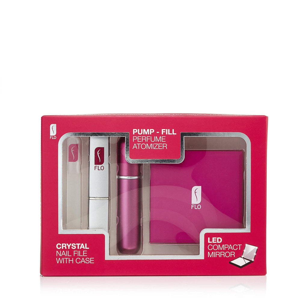 Refillable Fragrance Atomizer Gift Set by Flo
