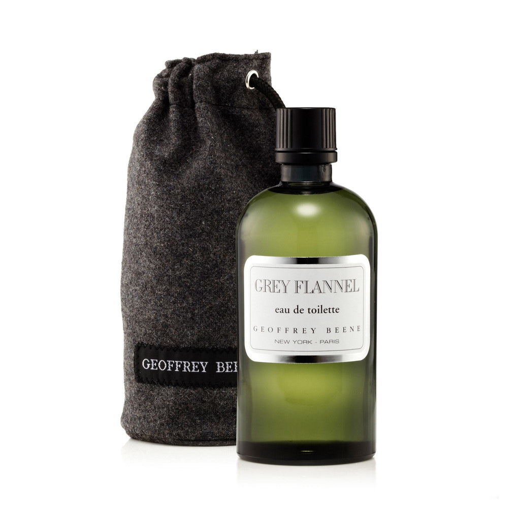 Geoffrey Beene Grey Flannel Eau de Toilette Mens Spray 8.0 oz. with Pouch