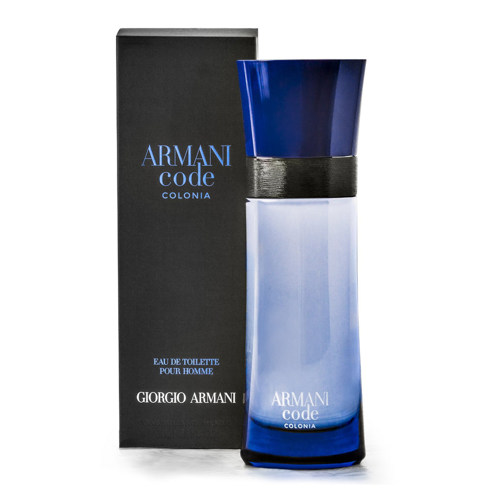Armani Code Colonia For Men By Giorgio Armani Eau De Toilette Spray