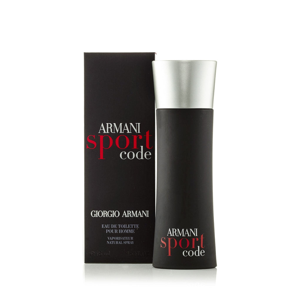 Code Sport Eau de Toilette Spray for Men by Giorgio Armani 2.5 oz.