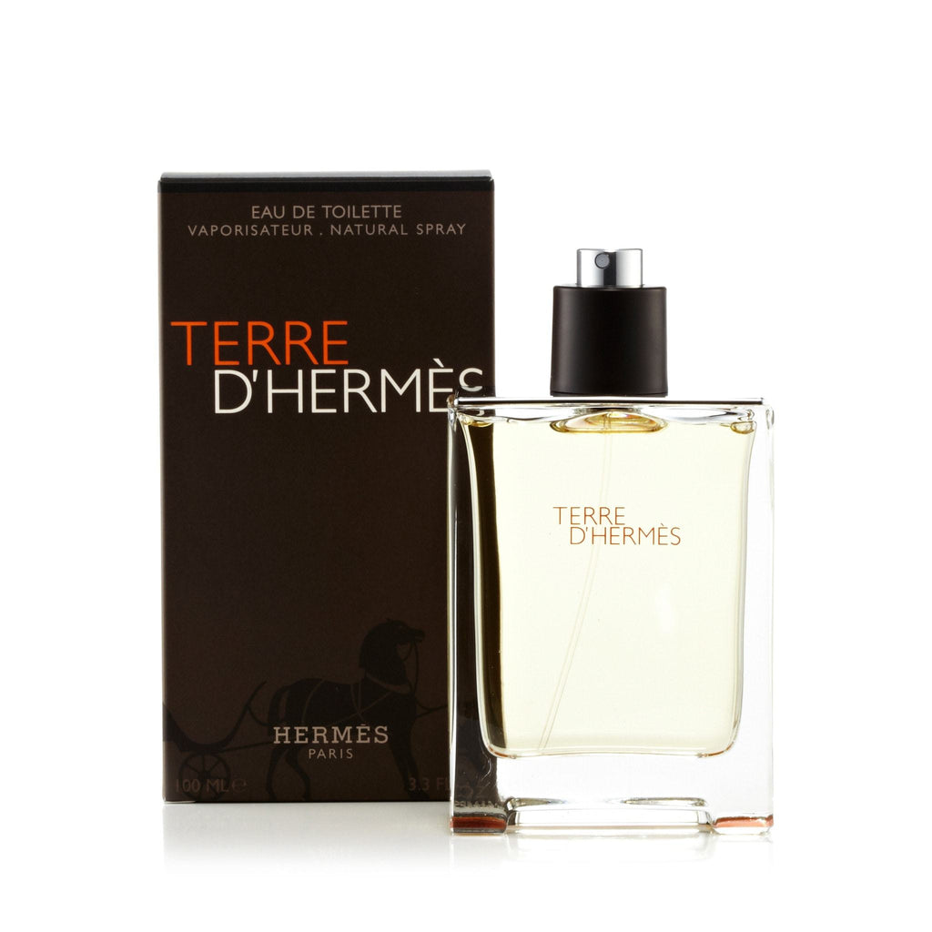 Hermes Terre D'Hermes Eau de Toilette Mens Spray 3.4 oz.