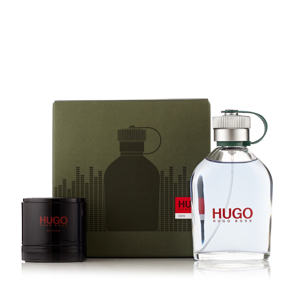 Hugo Green Gift Set Eau de Toilette and Portable Speaker for Men by Hugo Boss 4.2 oz.