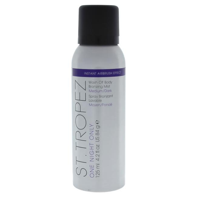 One Night Only Wash Off Body Bronzing Mist - Medium Dark by St. Tropez for Unisex - 4.2 oz Mist