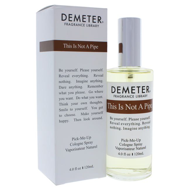 This Is Not A Pipe by Demeter for Unisex -  Cologne Spray