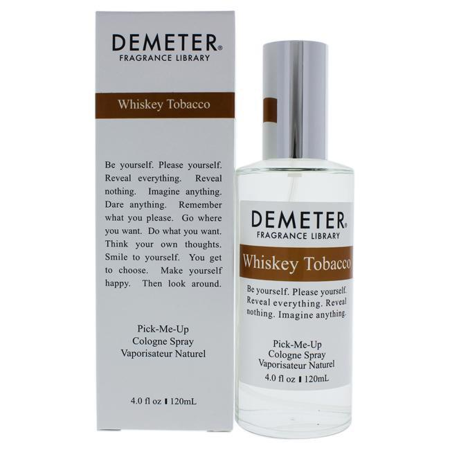 WHISKEY TOBACCO BY DEMETER FOR UNISEX -  COLOGNE SPRAY