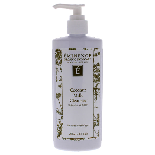 Coconut Milk Cleanser by Eminence for Unisex - 8.4 oz Cleanser