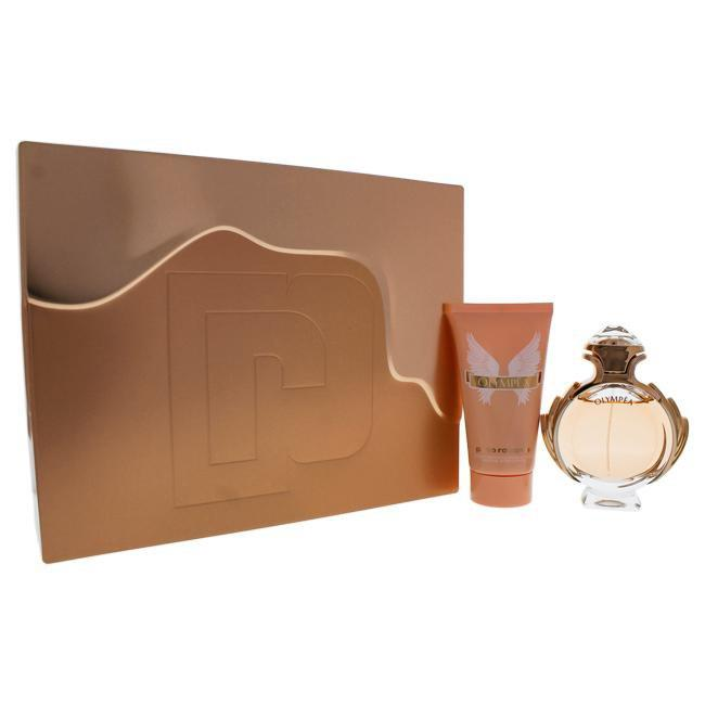 Olympea by Paco Rabanne for Women - 2 Pc Gift Set 1.7oz EDP Spray, 2.5oz Body Lotion