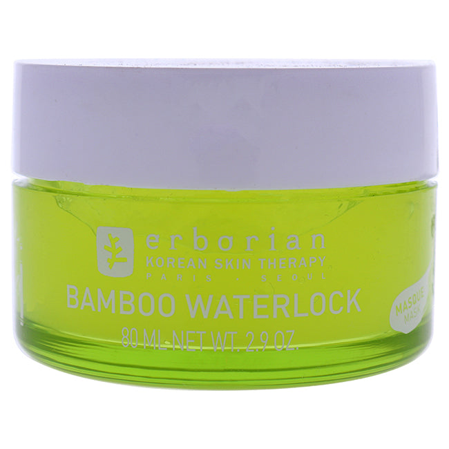 Bamboo Waterlock Mask by Erborian for Women - 2.9 oz Mask