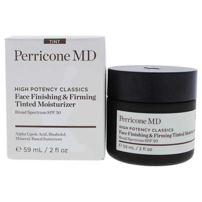 High Potency Classics Face Finishing and Firming Tinted Moisturizer SPF 30 by Perricone MD for Unisex - 2 oz Moisturizer