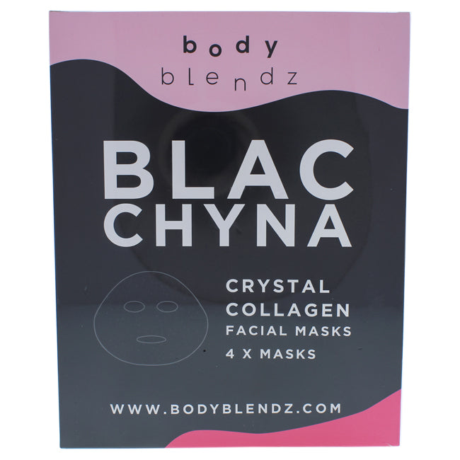Crystal Collagen Facial Mask by BodyBlendz for Women - 4 Pc Mask