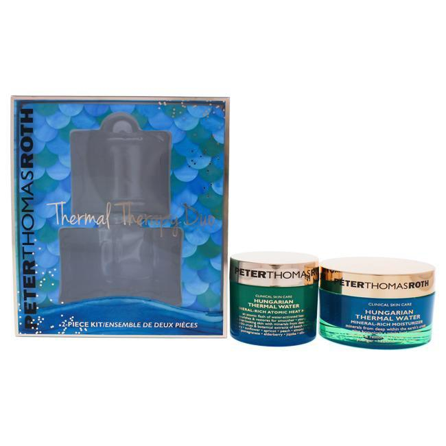 Thermal Therapy Duo by Peter Thomas Roth for Women - 2 Pc 1.7oz Hungarian Thermal Water Mineral-Rich