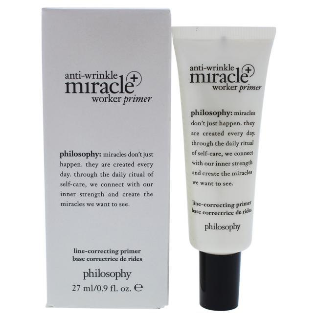 Anti-Wrinkle Miracle Worker Primer Plus Line-Correcting Primer by Philosophy for Women - 0.9 oz