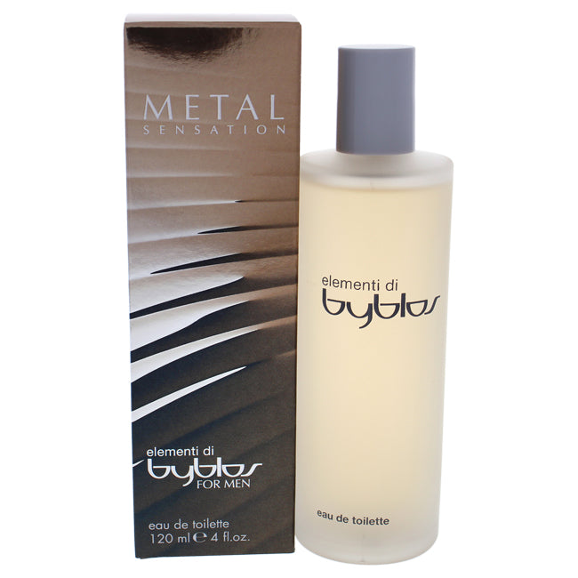Elementi Di Metal Sensation by Byblos for Men - EDT Spray