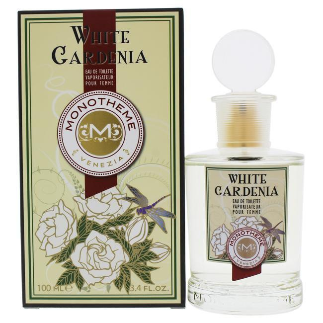 WHITE GARDENIA BY MONOTHEME FOR WOMEN -  Eau De Toilette SPRAY