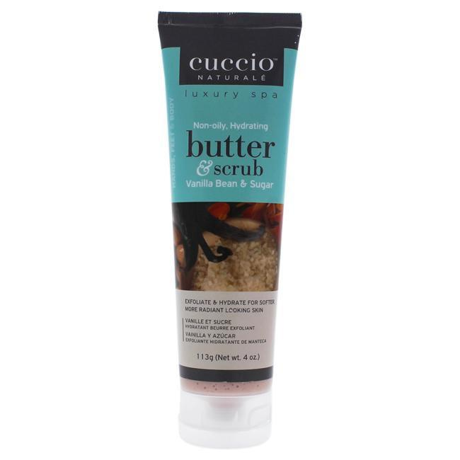Butter and Scrub - Vanilla Bean and Sugar by Cuccio for Unisex - 4 oz Scrub