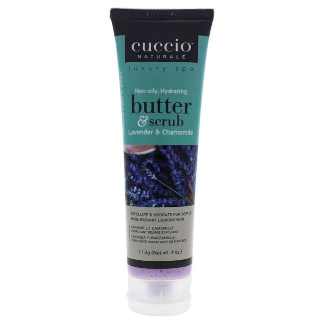 Butter and Scrub - Lavender and Chamomile by Cuccio for Unisex - 4 oz Scrub